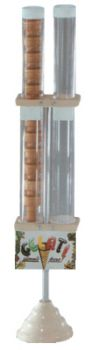 Portaconi verticale - 2 cilindri