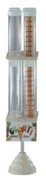 Portaconi verticale - 4 cilindri