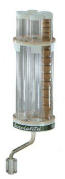 Portaconi verticale a parete - 6 cilindri