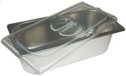 Coperchio piatto per vaschetta