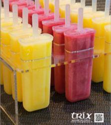 Griglia di supporto e preparazione per stampo ghiacciolo/gelato