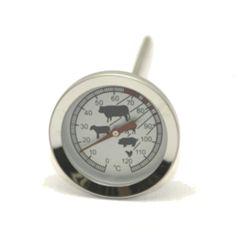 Termometro tondo a puntale